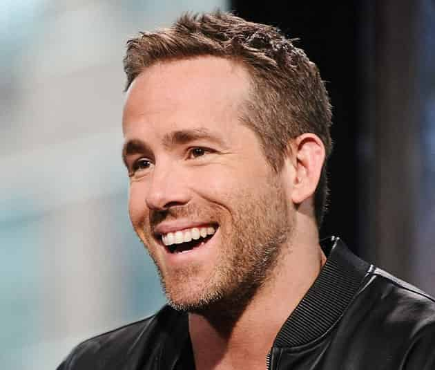 Ryan Reynolds Hairstyle