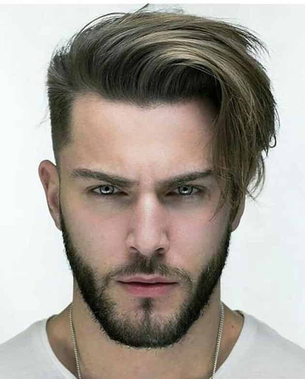 Side Comb Hairstyle
