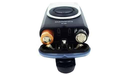 braun m90 mobile shaver battery-compartment