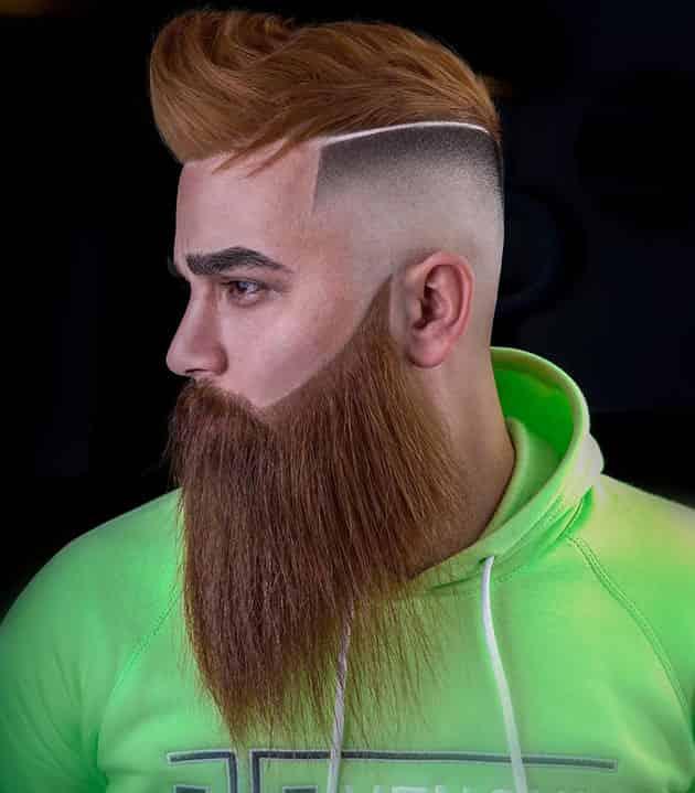 coconut beard