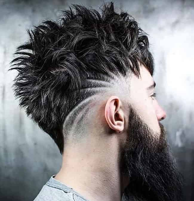 mohawk cracked hairstyle