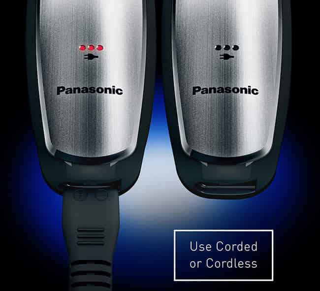 cordless and corded trimmer Panasonic GB80