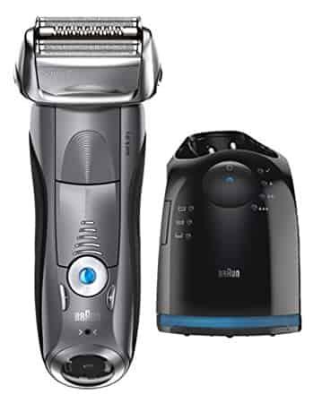 Braun Series 7 7865cc smart shaver for sensitive skin