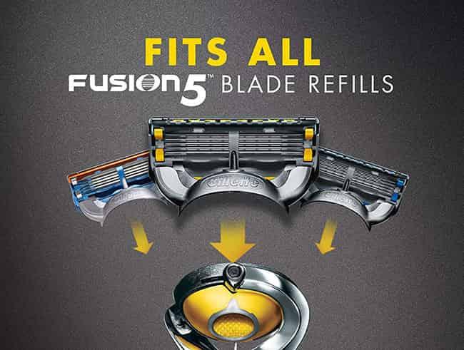 5 blade razor