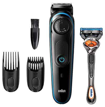 best affordable beard trimmer Braun bt3040