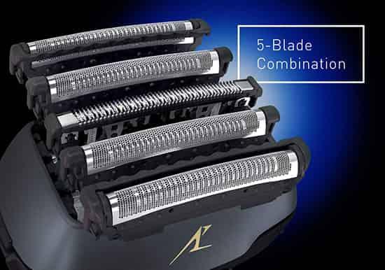 5 cutting blades