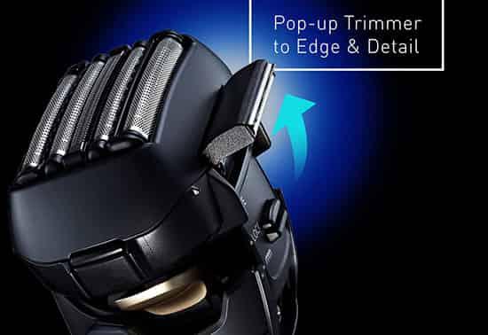 Panasonic arc5 popup trimmer