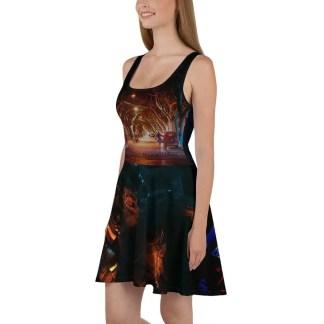 It's not dark yet - Skater Dress