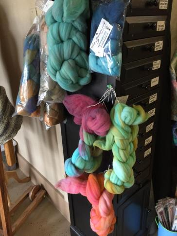 Hand dyed Rambouillet