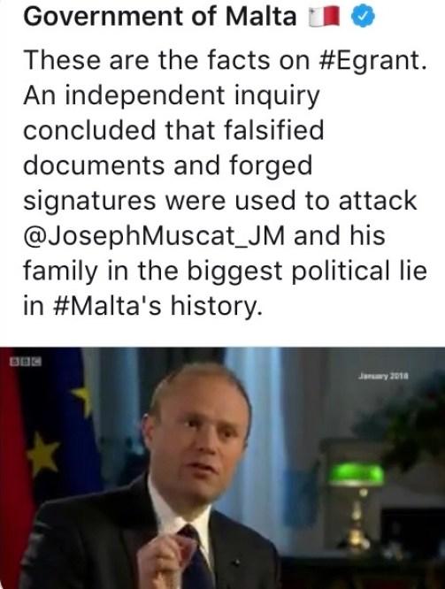 Joseph Muscat BBC