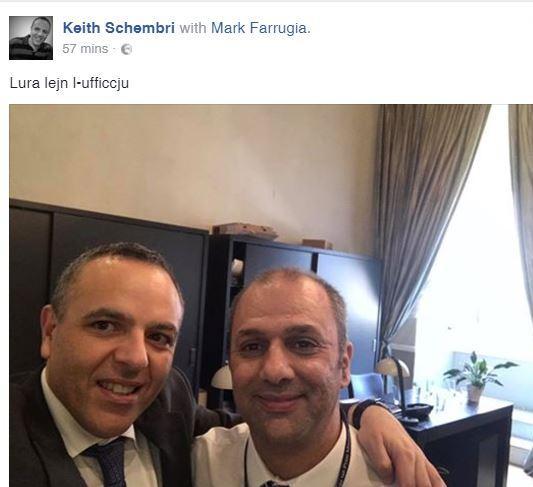 Keith Schembri + Mark Farrugia