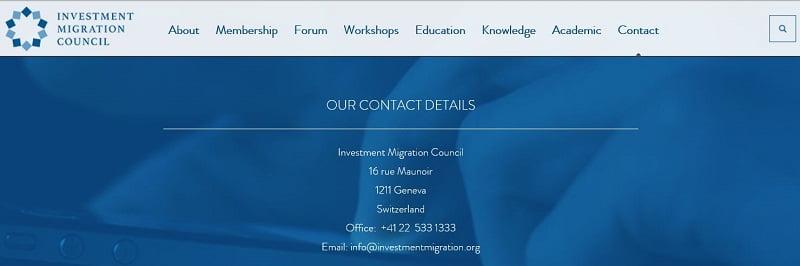 IMC contact