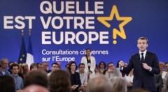 Emmanuel Macron à Épinal pour lancer les consultations