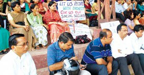 Protests mar Teachers' Day celebrations