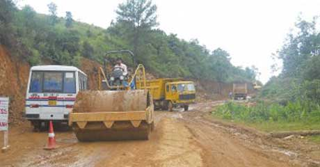 widening of the NH-44 E