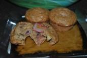 StrawNana Muffins