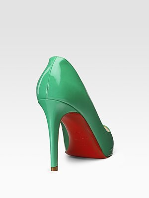 Lime Green Christian Louboutin