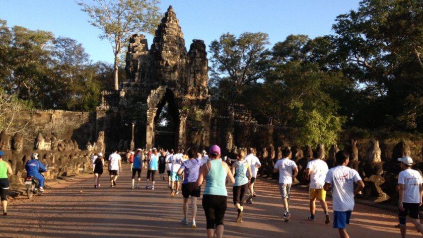 The Angkor Wat Marathon. Goals.