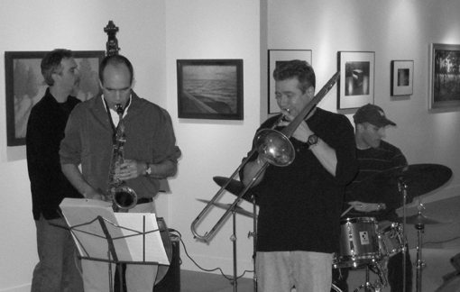 Rob Brown   Steve Swell   Joe Morris   Luther Gray   Rob Brown Quartet   Radiant Pools   rogueart jazz