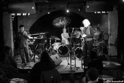 Larry Ochs Sax & Drumming Core | Stone Shift | rogueart jazz