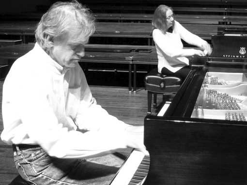 Connie Crothers | David Arner | Spontaneous Suites For Two Pianos | rogueart jazz