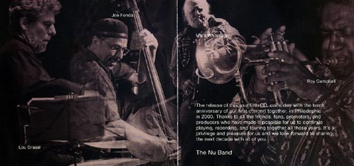 the nu band | live in paris | no buiness records