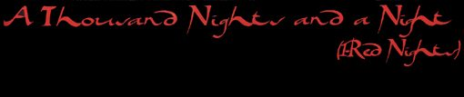 kip hanrahan | a thousand night and a night - (1- red nights | american clavé