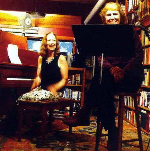 Connie Crothers | Paula Hackett | Sharing the Thrill | Piano & Poems | NA1055