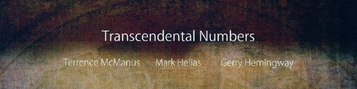 Terrence McManus | Mark Helias | Gerry Hemingway | Transcendental Numbers | no business records