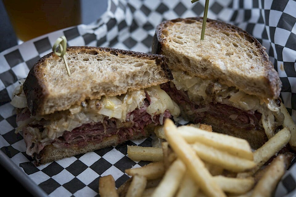 Reuben done right