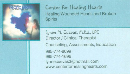 Center For Healing Hearts  K.B. Kaufman and Co
