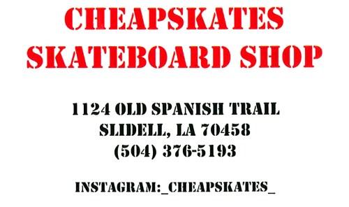 Cheapskates Skateboard Shop