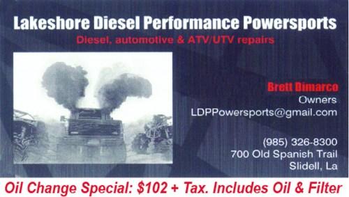Lakeshore Diesel Performance Powersports
