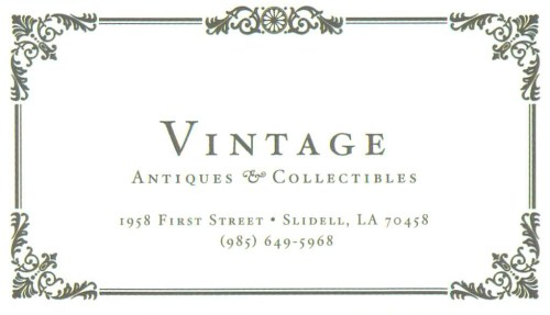 Vintage Antiques & Collectibles