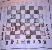 Blackwork Chessboard