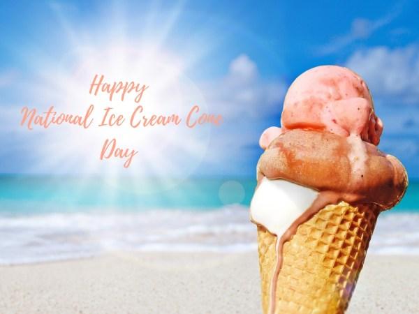 All Hail the Ice Cream Cone!