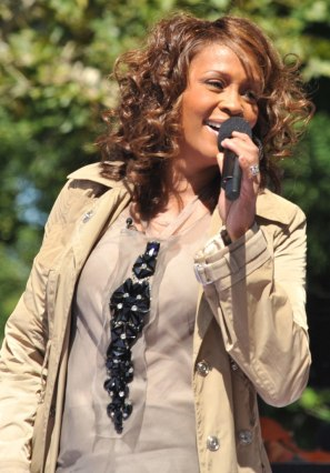 Whitney Houston struggled with drug addiction her adult life.