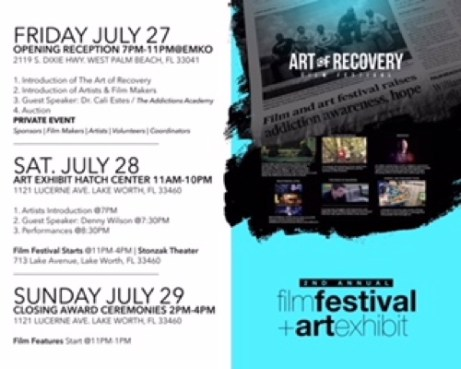 Art of Recovery Program of Events