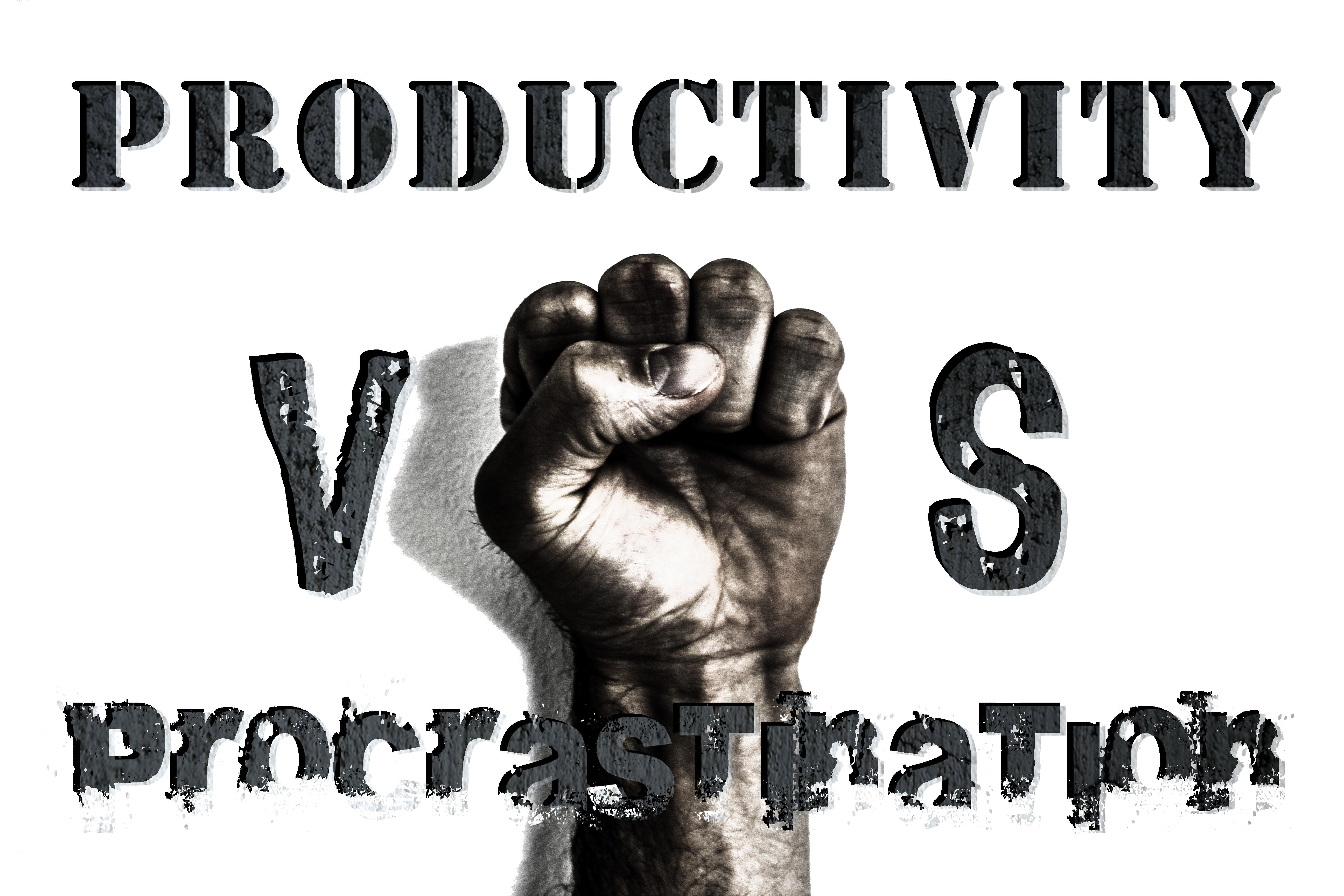 Productivity Vs Procrastination: 5 Pertinent Points