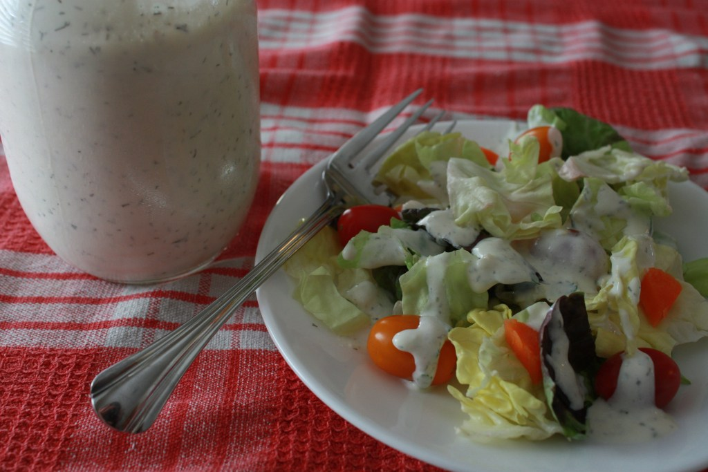 Ranch dressing without mayo