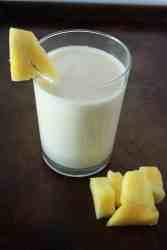 Pineapple Banana Protein Smoothie