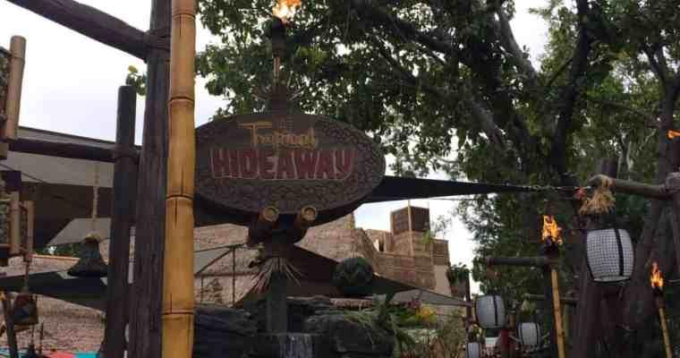 Disneyland Tropical Hideaway Menu and Review