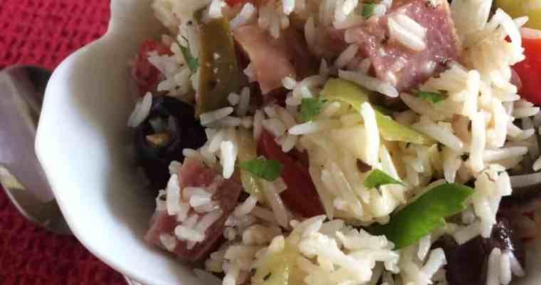 Antipasto Rice Salad
