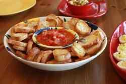 Easy Tomato Basil Bruschetta The Short Order Cook