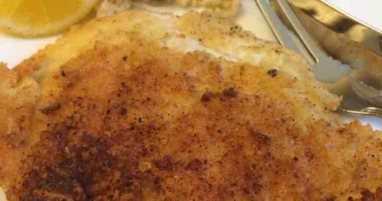 Crispy Parmesan Chicken Cutlets