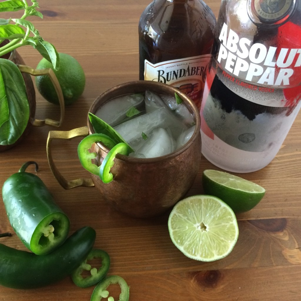 spicy jalapeno moscow mule