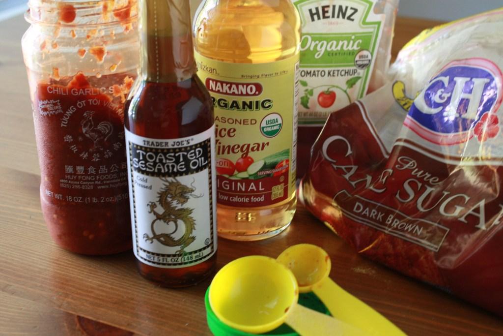 Basting sauce ingredients