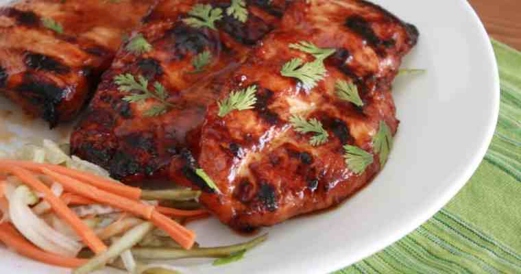Vietnamese Grilled Chicken Breasts