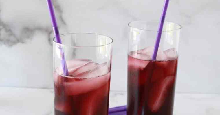 Purple Passion Cocktail