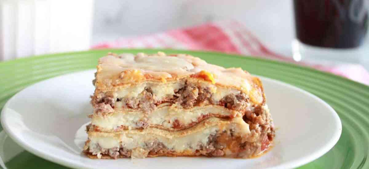 low carb keto lasagna with Crepini